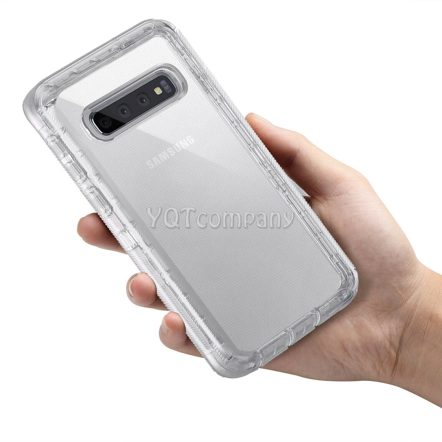 For Samsung Galaxy S10 Plus/S10 Case Shockproof Clear TPU Hard Cover Accessories