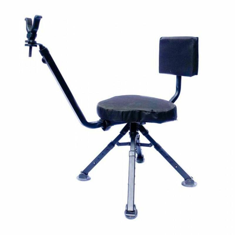Benchmaster Four Leg Ground Blind Chair Shooting Chair BMGBSC2
