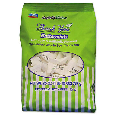 HOSPITALITY MINTS Thank You Buttermints Candies 26 oz Bag 000501