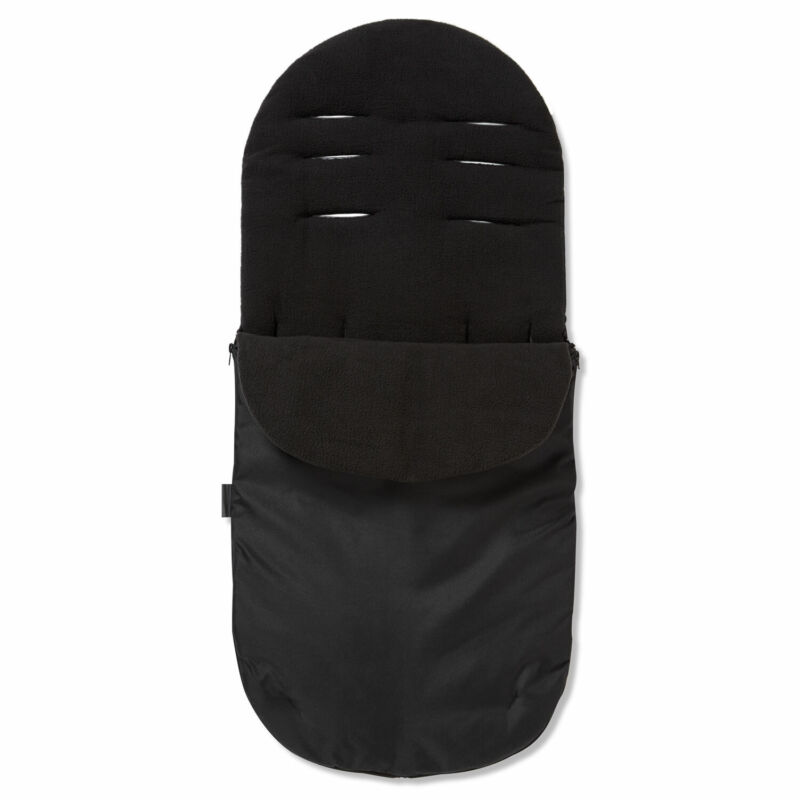 Footmuff / Cosy Toes Compatible with Egg Stroller Tandem Pushchair Black Jack