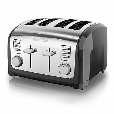 4-Slice Toaster Multi R Extra Wide Slots, Stainless Steel, T4030