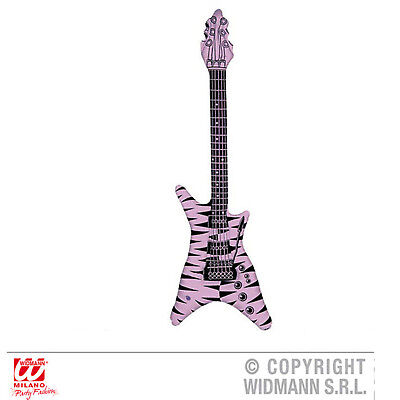 Pink Inflatable Guitar (Inflatable Electric Rock Guitar Pink Gay Pride Rock Pop Star 80's Fancy)