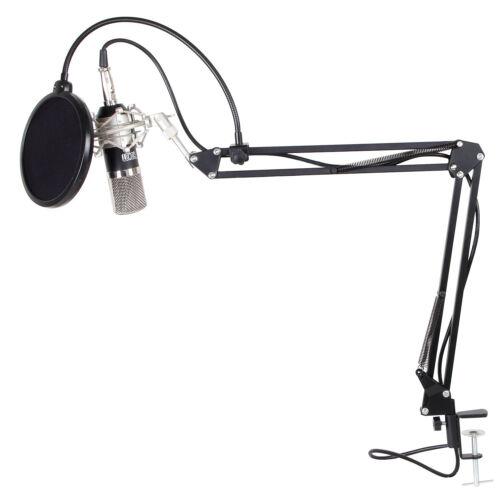 Изображение товара TONOR Professional Condenser Microphone Studio Recording Mic W/ Stand Black