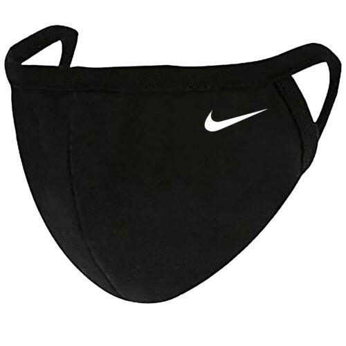Nike - Face Mask Adult Youth Fashion 2 Layers + Pocket Custom Made in US
