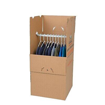 Wardrobe Moving Box Storage Box Cover Shirt Box Clothes Moving Box