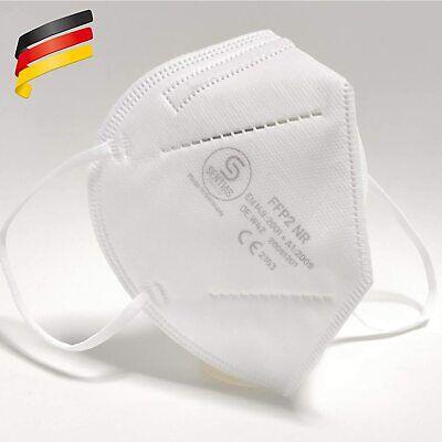 10x SENTIAS FFP2 Maske in Deutschland hergestellt EN 149 CE 2163 Atemschutz