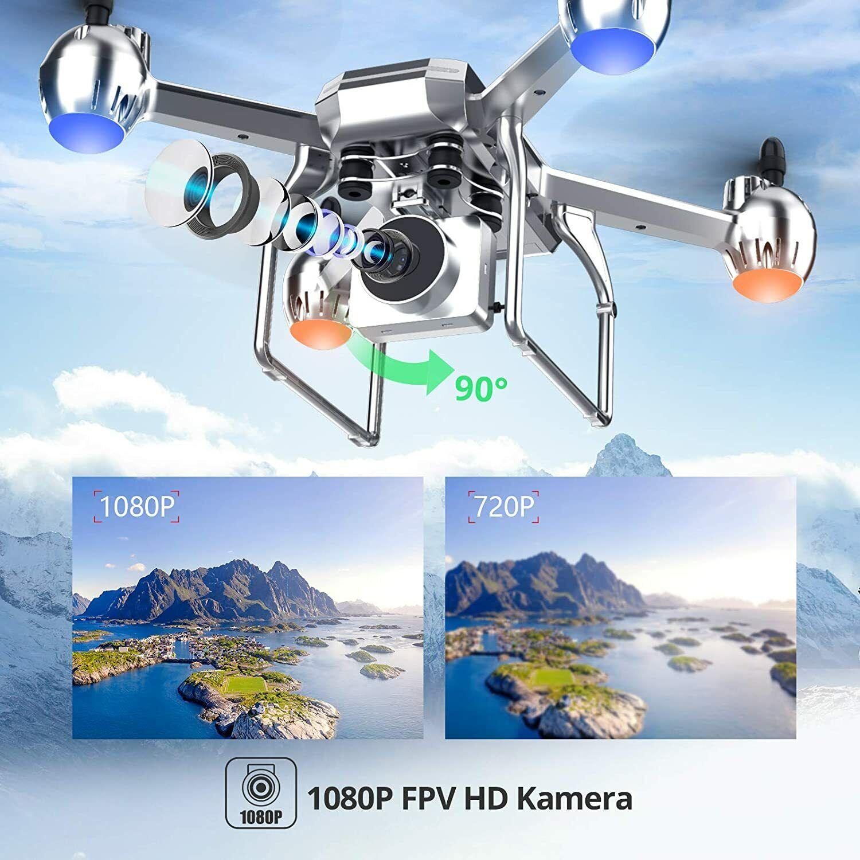 Eanling HS140 Drohne mit Kamera 1080P HD für Anfänger,RC Quadrocopter ferngesteu