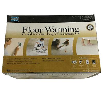 Laticrete Floor Warming Electric Radiant Floor Heat Mat Kit 40 sqft Tile Stone