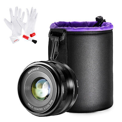 Neewer 35mm f/1.7 Manual Focus Prime Fixed Lens Kit for SONY NEX 3 3N 5 5T 5R 6