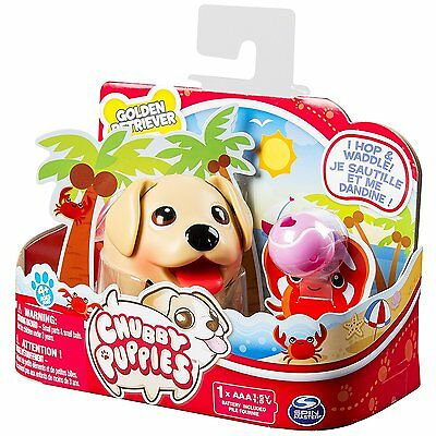 Chubby Puppies - Golden Retriever Interactive Electronic Pet Dog