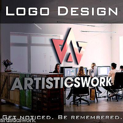 PROFESSIONAL CUSTOM LOGO | LOGO DESIGN | UNLIMITED REVISIONS | VECTOR FILE