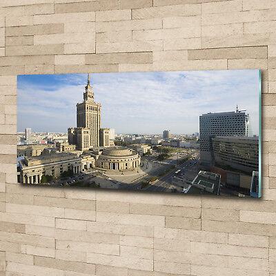 Glas-Bild Wandbilder Druck auf Glas 125x50 Deko Sehenswürdigkeiten Kulturpalast