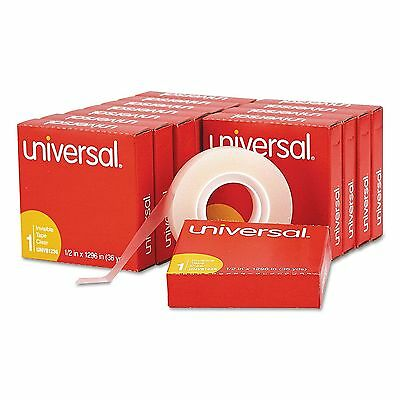 12 Pack Universal Invisible Tape 12 X 1296 1 Core Clear Transparent Lot Magic