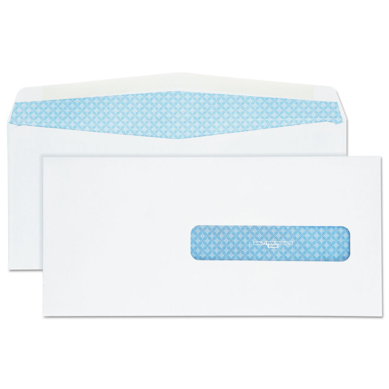 Quality Park Health Form Redi Seal Security Envelope #10 1/2 4 1/2 x 9 1/2 White