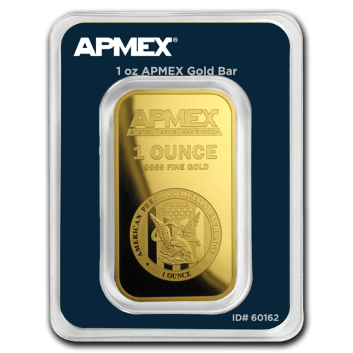 1 OZ GOLD BAR - APMEX (IN TEP PACKAGE) - SKU #90600