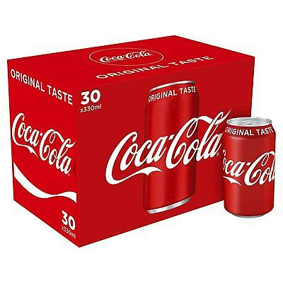 GB Coca Cola 330ml Cans (Pack of 30)