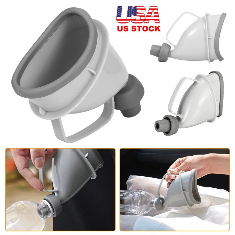 Camping Portable Female Urinal Device Reusable Cup Urination Funnel For Women