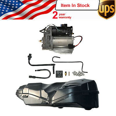 LR023964 Land Range Rover Sport LR3 LR4 Air Suspension Compressor Pump + COVERS