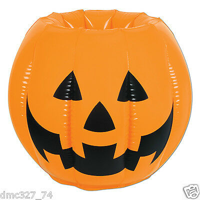 Halloween Inflatable Cooler (HALLOWEEN Party Prop INFLATABLE JACK O LANTERN Pumpkin Drink Ice Chest)