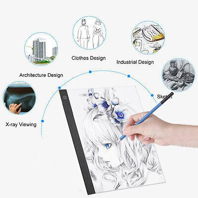A3 LED Light Box Pad Slim Copyboard Tracing Drawing Board Graphic Tablet O0P5