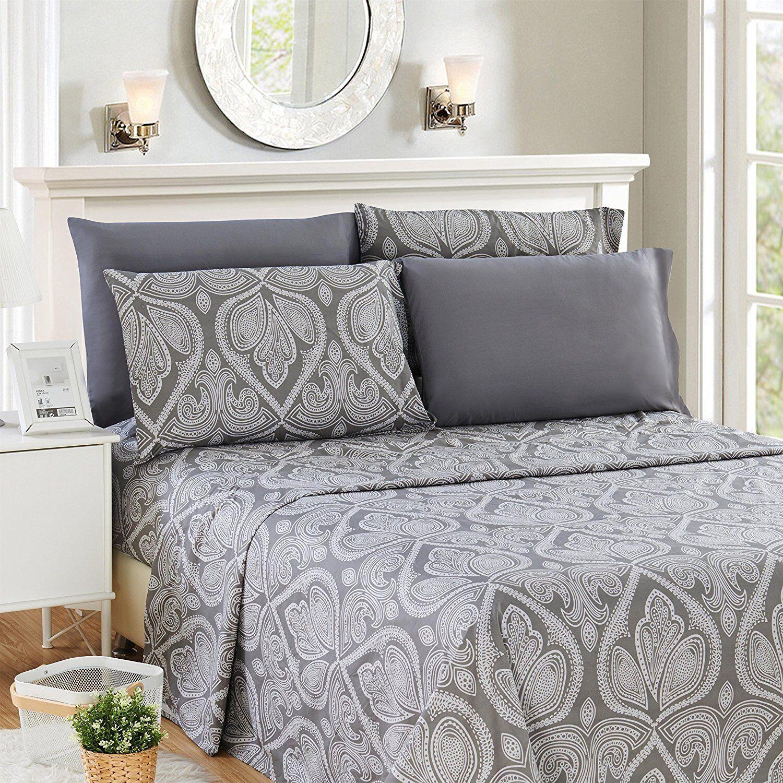 Bed Sheet Set Egyptian Comfort Hotel Luxury Deep Pocket 1800 Count 6 Piece