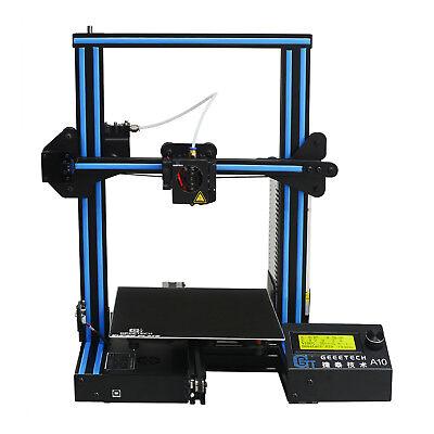 Free Tax & US Shipp Geeetech A10 3D Printer Quiet Printer Better Adhesion
