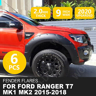 For Ford Ranger 2015-18 Wide Body Wheel Arches Fender Flares T7