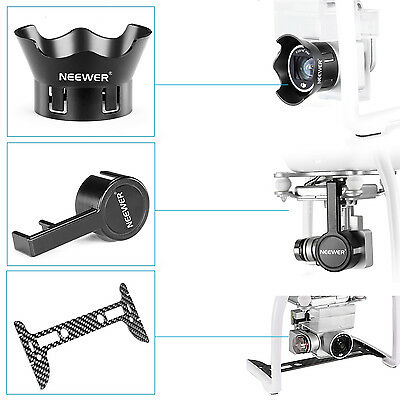 Neewer Gimbal Guard + Camera Lens Cap for DJI Phantom 3 Prof