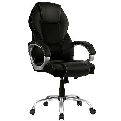 New High Back PU Leather Office Chair Ergonomic Executive Task Chair Swivel