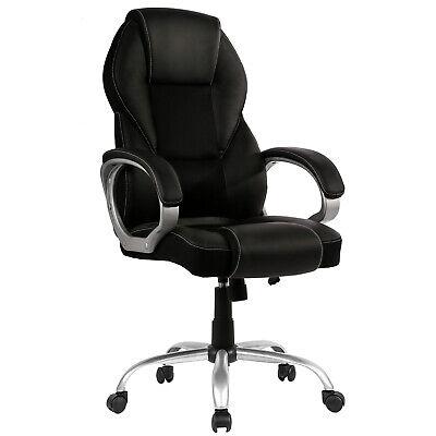 New High Back PU Leather Office Chair Ergonomic Executive Ta