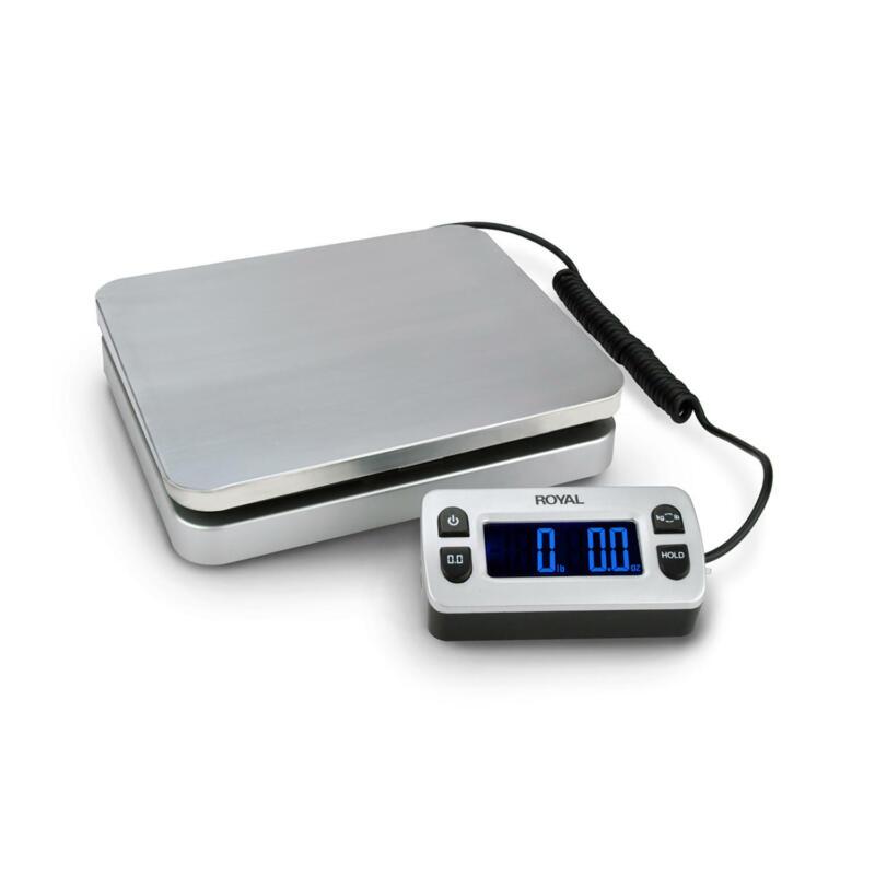 Royal DG110 Digital Postal Scale 110lb / 50kg Maximum Weight Capacity - Silver