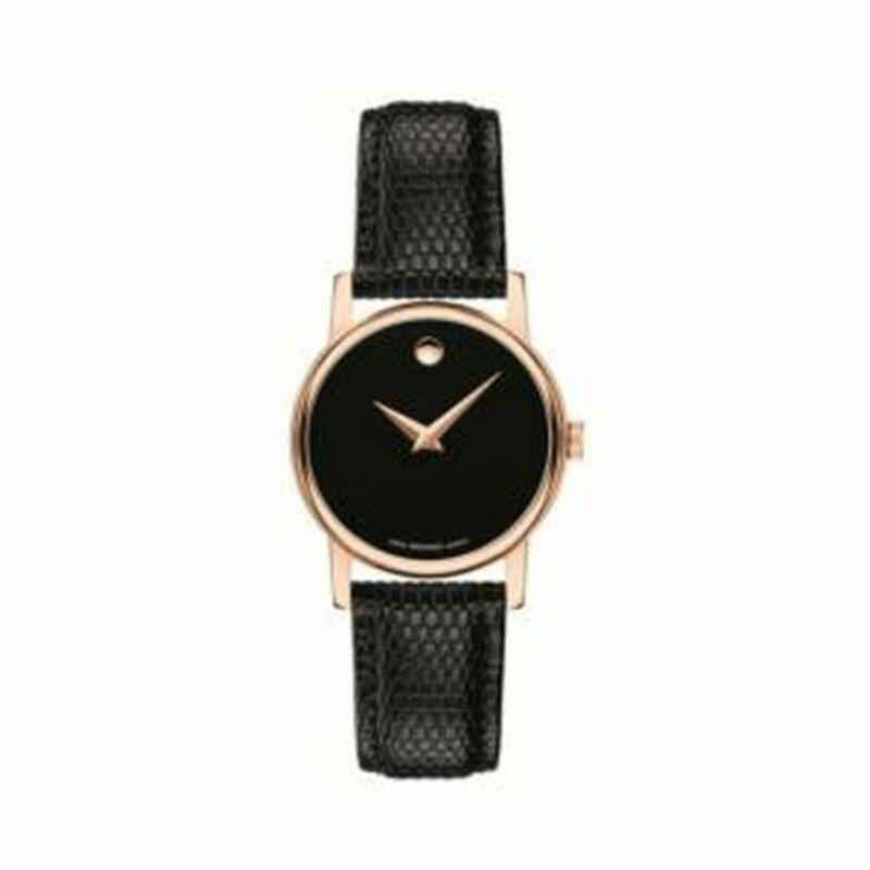 Movado 2100012 Women Museum Black Quartz Watch