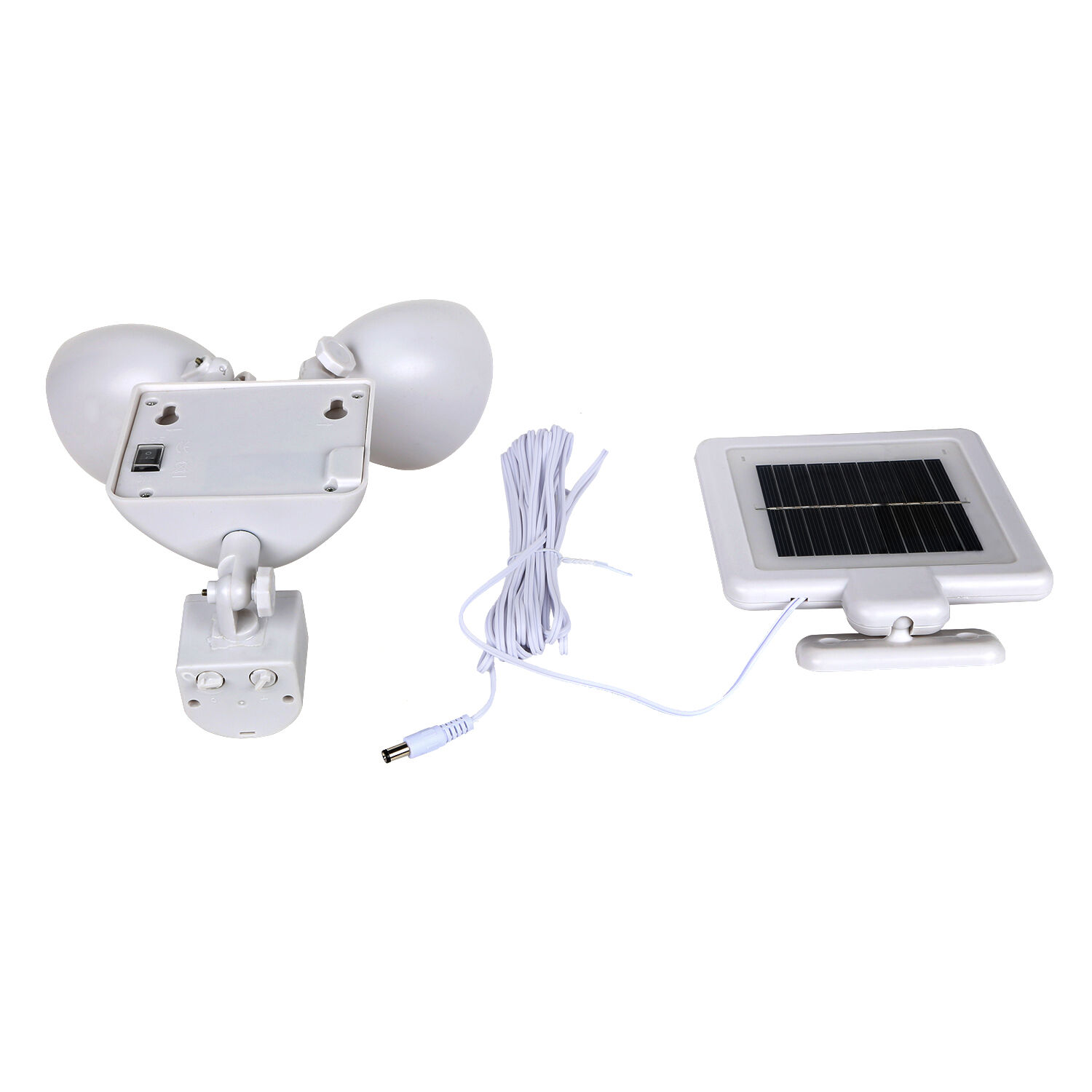 Dual Security Detector Solar Spot Light Motion Sensor Outdoor 22 LED Floodlight