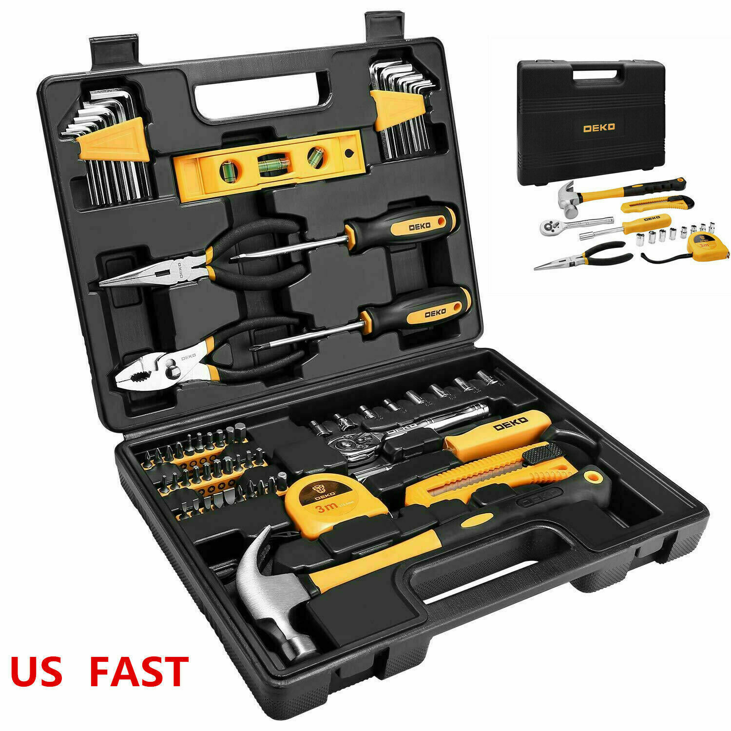 65 pcs general household hand tool kit