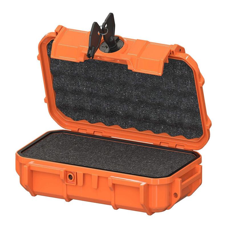 Seahorse 56 Micro Protective Waterproof Hard Case with Foam (Orange)