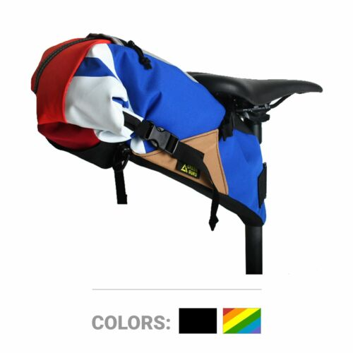 Green Guru- Multi-Color Hauler Bike Pack Saddle/Messenger Bag
