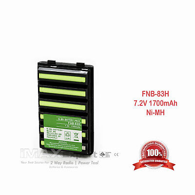 Fnb V57 Fnb 83 Battery For Yaesu Vertex Vx150 Vx160 Vx180 Vx400 Vxa 300