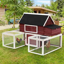 Chicken Coop Poultry Cage 3 Shape Living House Customization Runs