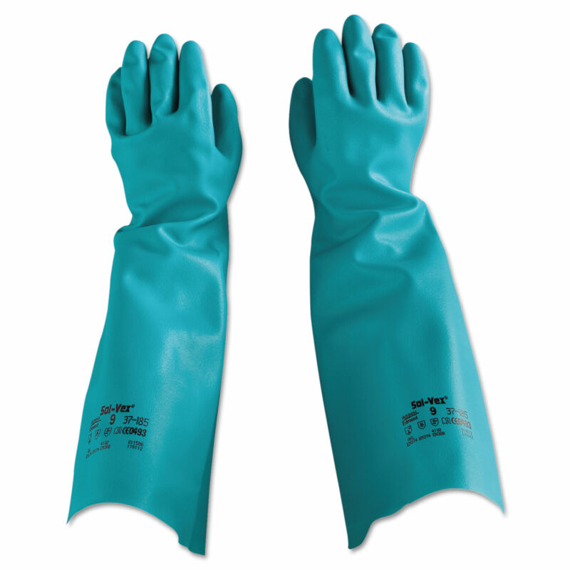 Ansell Sol-Vex Nitrile Gloves Size 9 371859