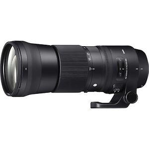 Sigma 150 - 600 mm F5 - 6.3 DG OS HSM Contemporary Lens for Canon DSLR Camera