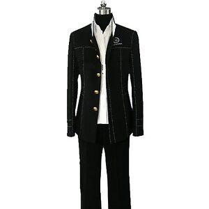 Persona 4 Yosuke Naoto Kanji protagonist Yasogami School Uniform Cosplay Costume