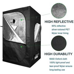 ACT SunStream Hydroponic Water-Resistant Grow Tent