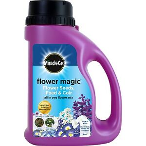 Miracle-Gro 1kg Flower Magic Flower Seed  Mix Jug