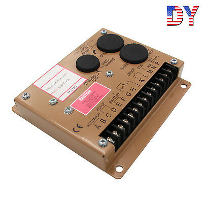 Electronic Engine Speed Controller Governor Esd5500e Generator Genset Parts Usa