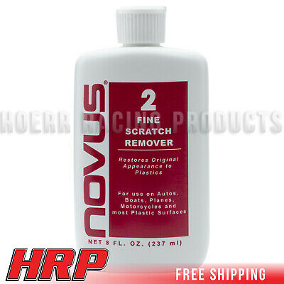 Novus 2 Fine Scratch Remover Polish Cleaner 8oz Bottle