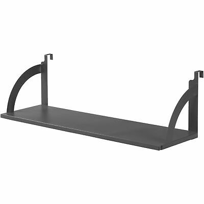 36w Hanging Shelf Black For 1-34 Partitioncubicle Panels