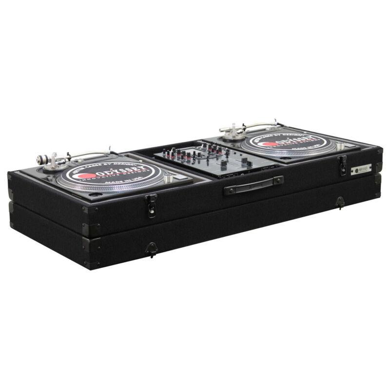 Odyssey CBM10E, Universal 10″ Format DJ Mixer Turntables Carpet Coffin Case