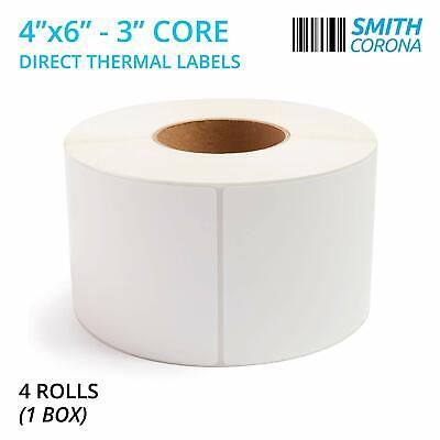 New Fresh Case Usa Made 4 X 6 Direct Thermal Labels 3 Core 4000 Labels