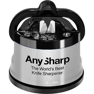 Anysharp Knife Sharpener Silver Blade Kitchen Tools Sharp Gadget Silver