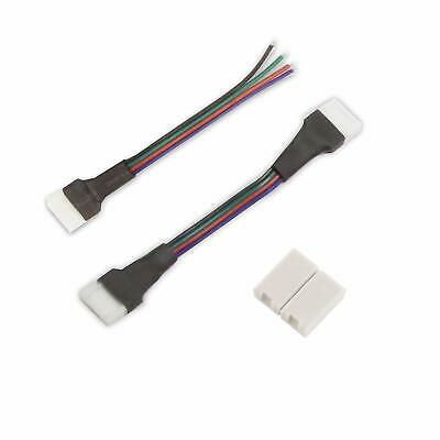 Diode Led Clicktight Rgb Tape Light 3 In Flexible Extension Pack Of 5